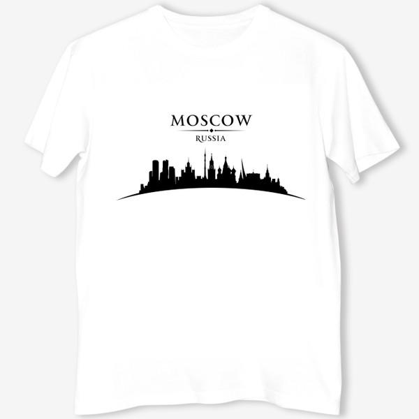 Футболка «Москва силуэт города»