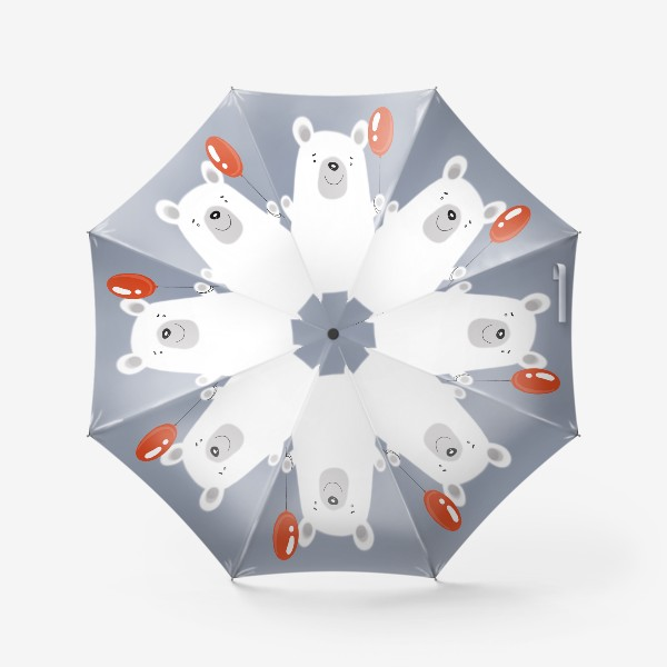Зонт «Добрый мишка»