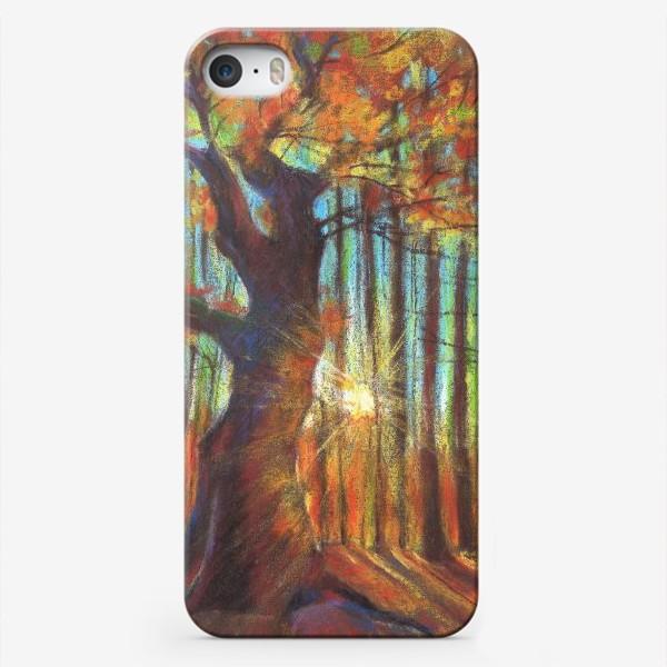 Чехол iPhone «Золотая осень»
