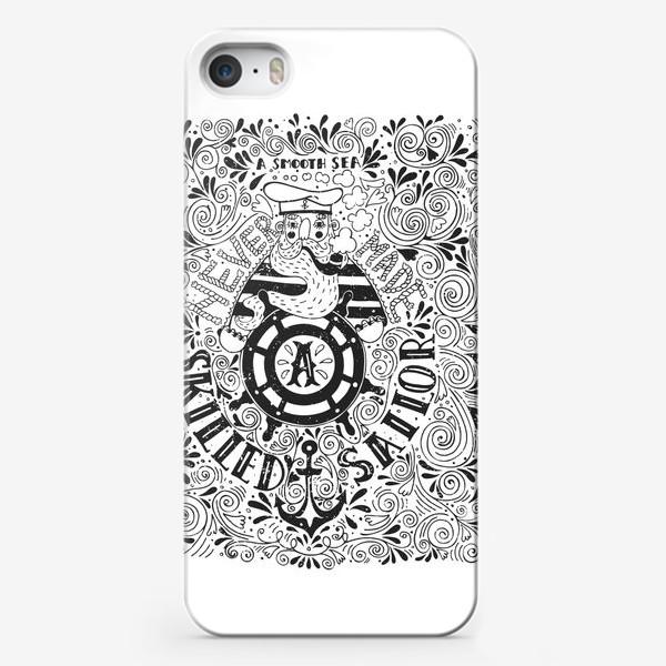 Чехол iPhone «Моряк»