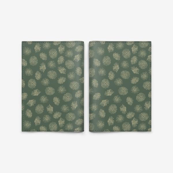 Обложка для паспорта «Dandelions green»