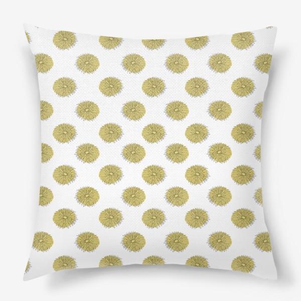 Подушка «Dandelions »