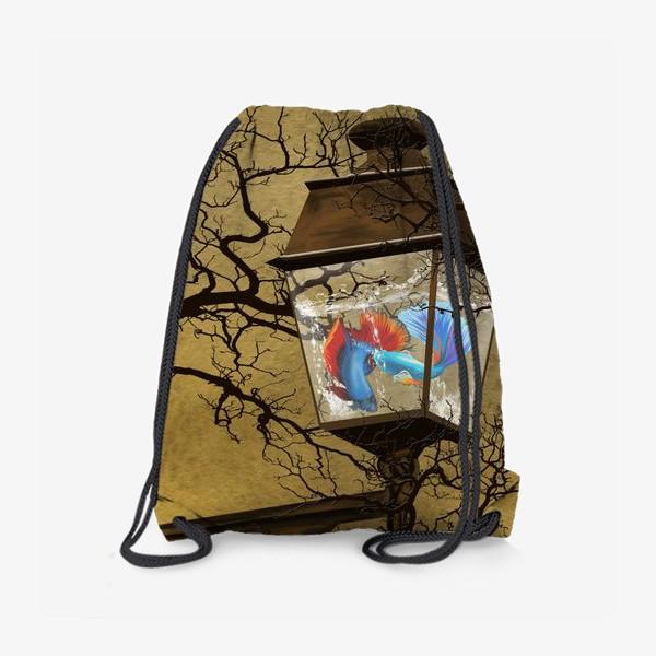 Рюкзак «Рыбы в фонаре»