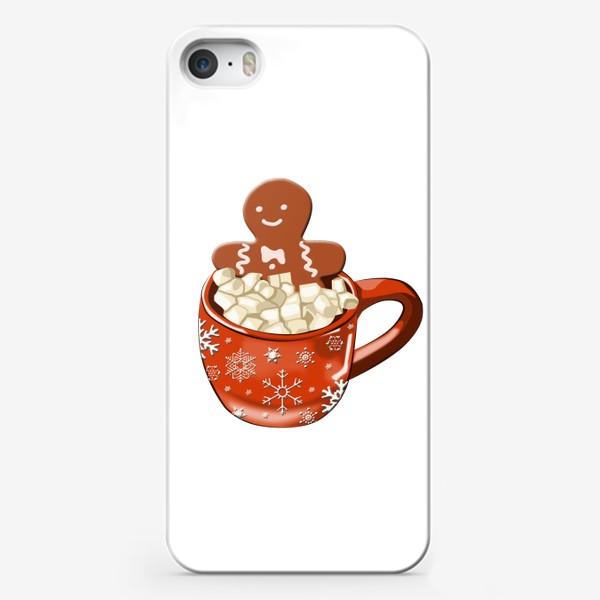 Чехол iPhone «Кружка с печенькой»