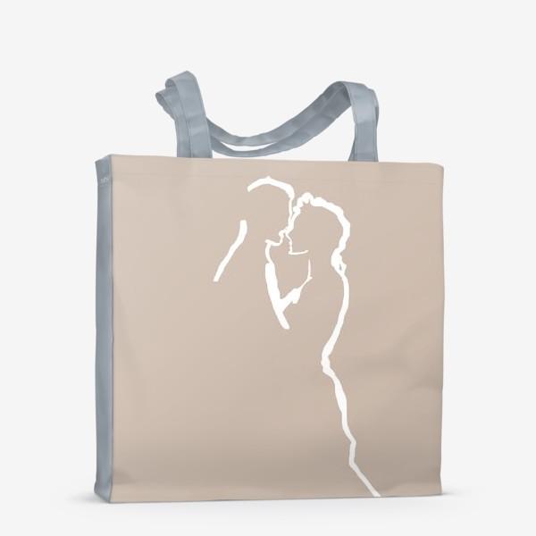 Сумка-шоппер «Любовь – это самое важное, что у нас есть!»