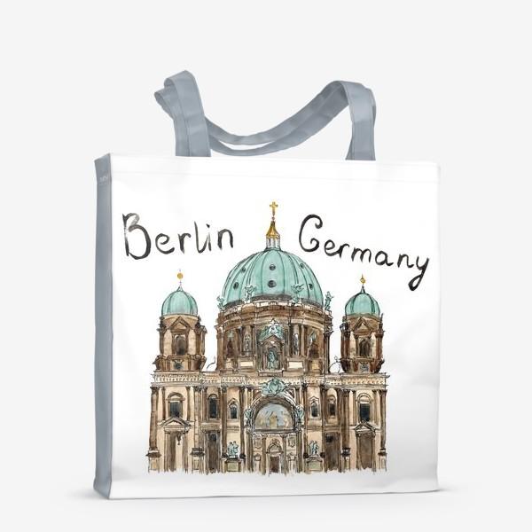 Сумка-шоппер «Sketch Berliner Dom»