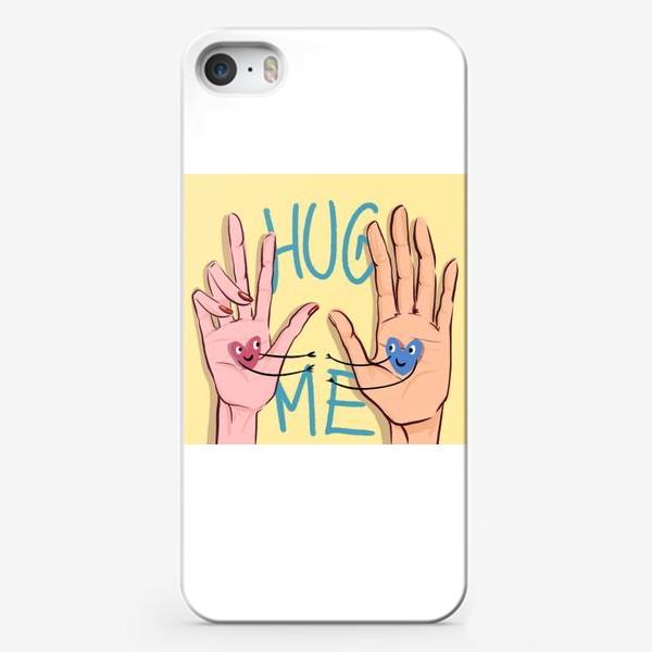 Чехол iPhone «Обними меня »