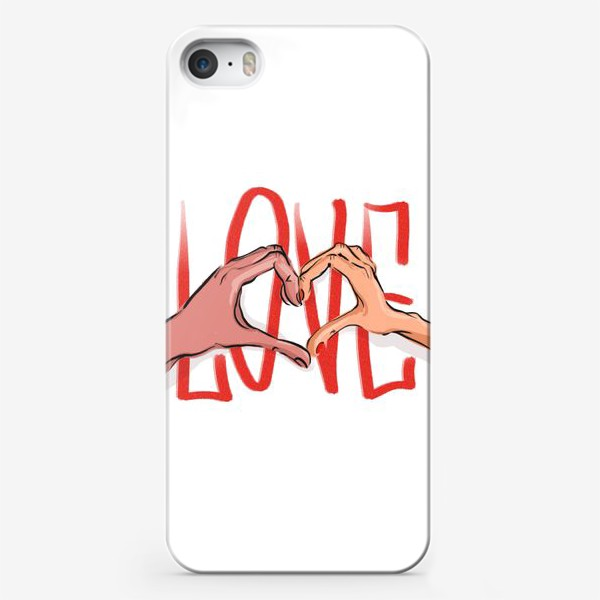 Чехол iPhone «Любовь 2»