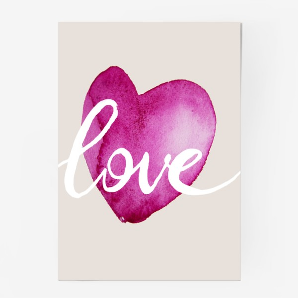 Постер «Сердце. Любовь»