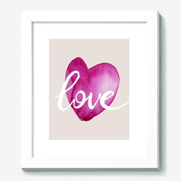 Картина «Сердце. Любовь»