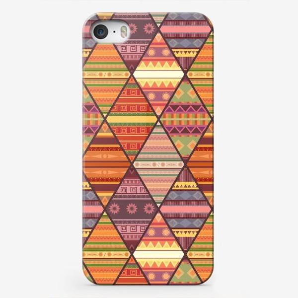 Чехол iPhone «Уютное лоскутное одеяло»