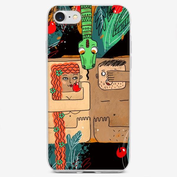 Чехол iPhone «Ева и Адам»