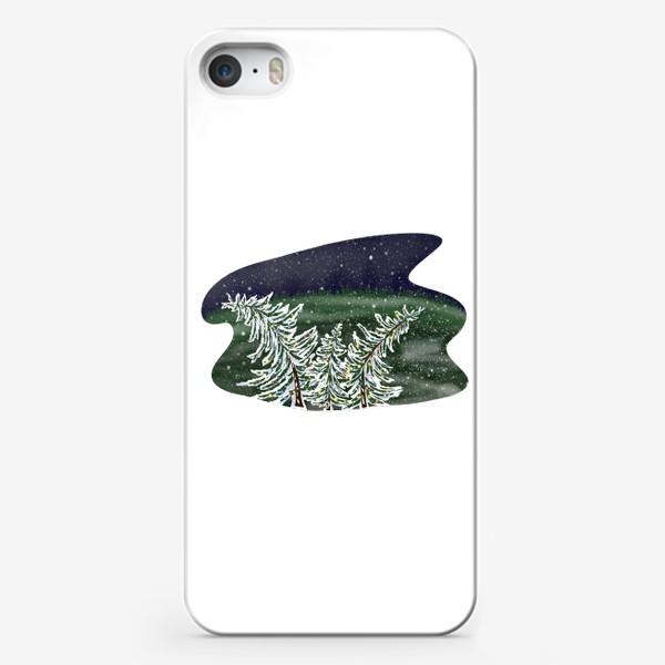 Чехол iPhone «Пляшущие елки»