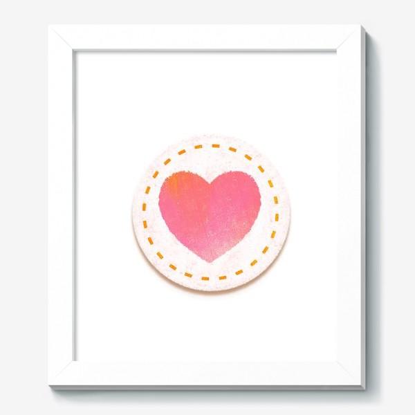 Картина «Сердце. Нашивка»