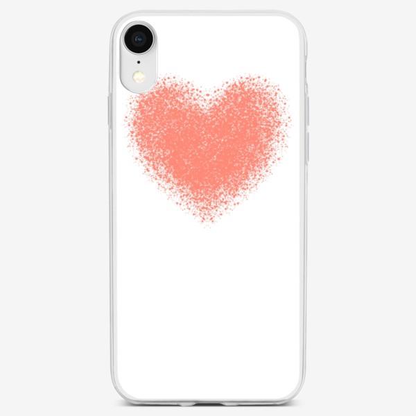 Чехол iPhone «Сердце. Валентинка»