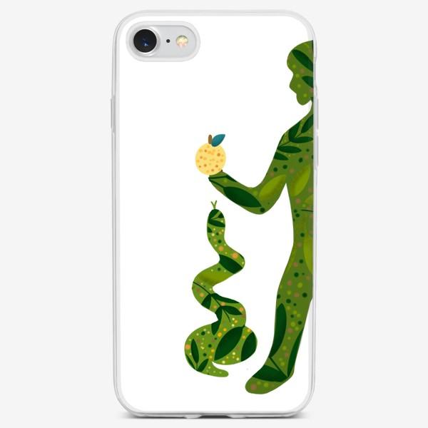 Чехол iPhone «Парный принт Адам »