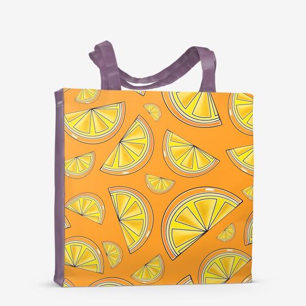 Сумка-шоппер «Сочные апельсины»