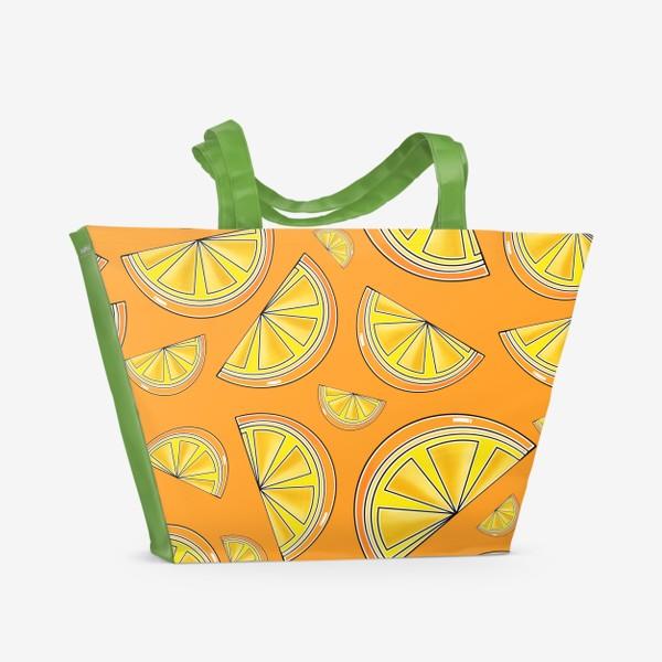 Пляжная сумка «Сочные апельсины»