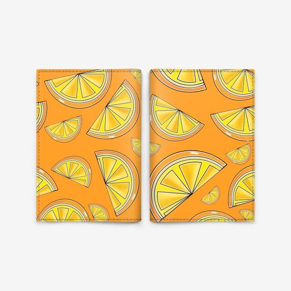 Обложка для паспорта «Сочные апельсины»