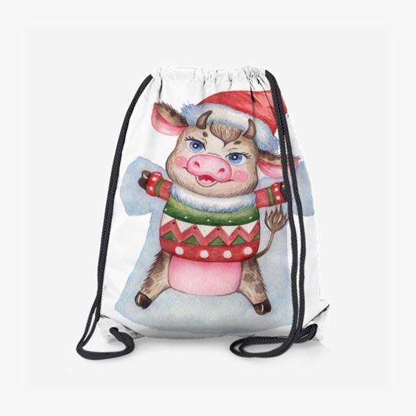 Рюкзак «Снежный бычок»