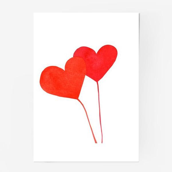 Постер «Два сердца»
