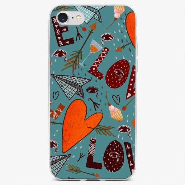 Чехол iPhone «День святого Валентина.»