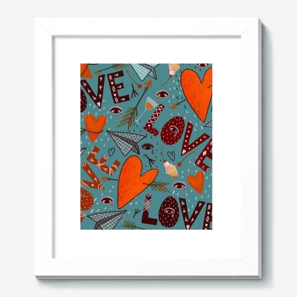 Картина «День святого Валентина.»