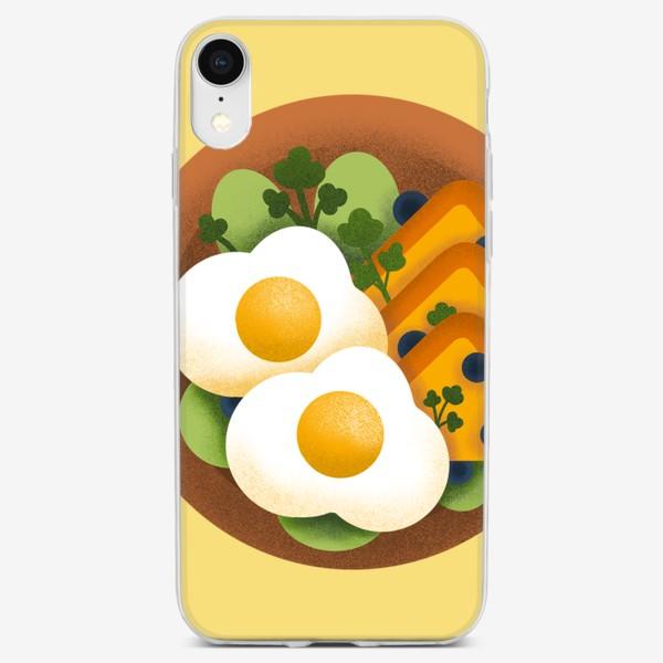 Чехол iPhone «Яичница»