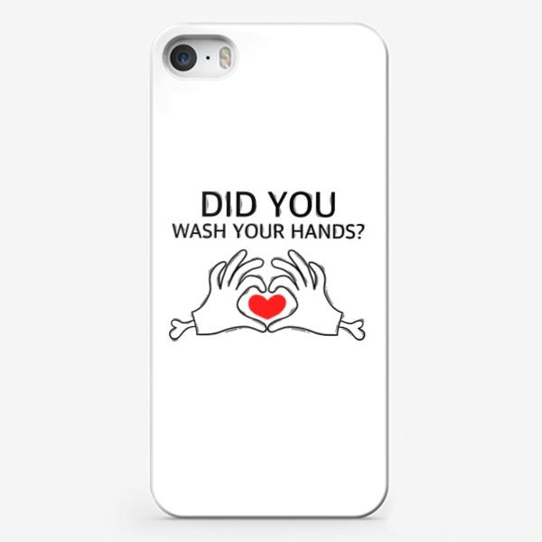 Чехол iPhone «Did you?»