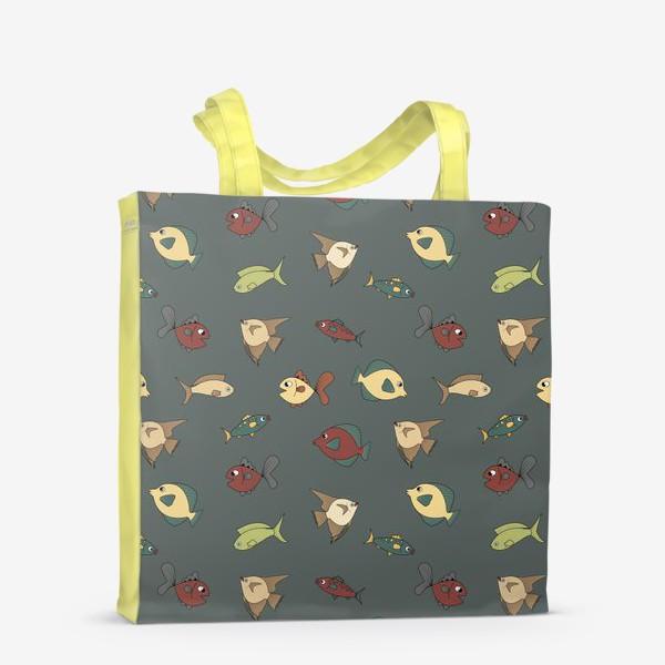 Сумка-шоппер «Разноцветные рыбки»