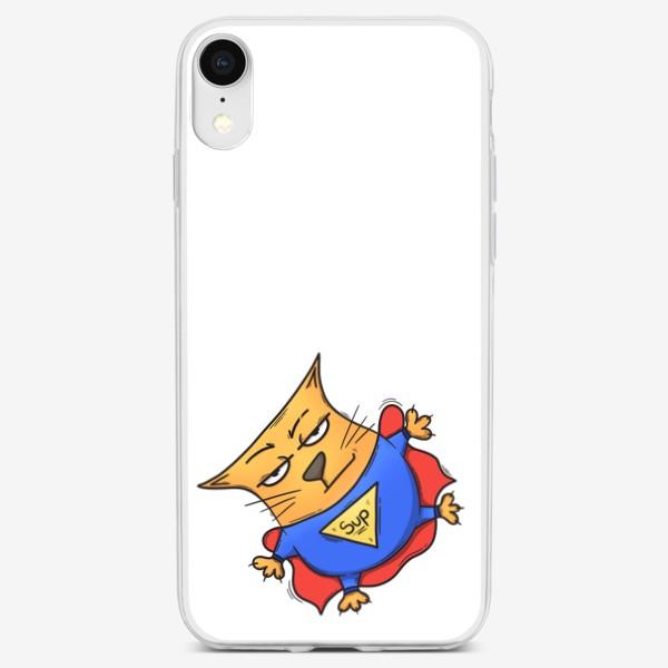 Чехол iPhone «Super cat»