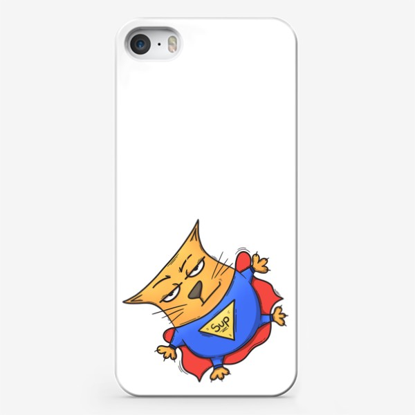Чехол iPhone «Super cat»