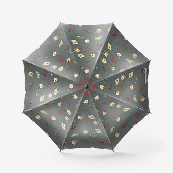 Зонт «Разноцветные рыбки»