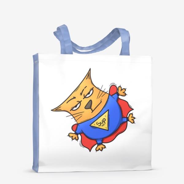 Сумка-шоппер «Super cat»