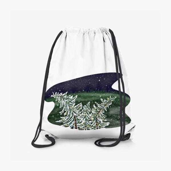 Рюкзак «Пляшущие елки»