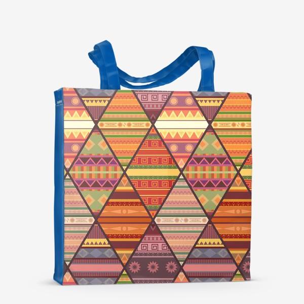 Сумка-шоппер «Уютное лоскутное одеяло»