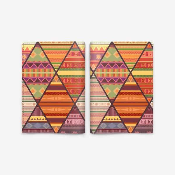Обложка для паспорта «Уютное лоскутное одеяло»