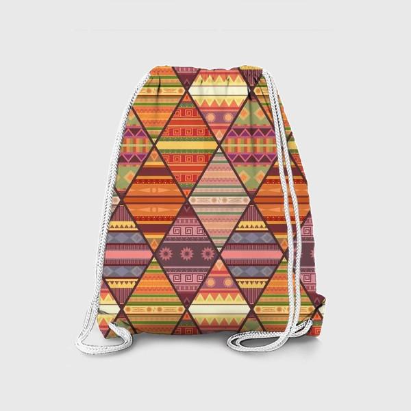 Рюкзак «Уютное лоскутное одеяло»