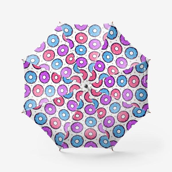 Зонт «Вкусные пончики »