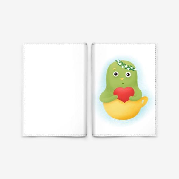 Обложка для паспорта «День Святого Валентина »