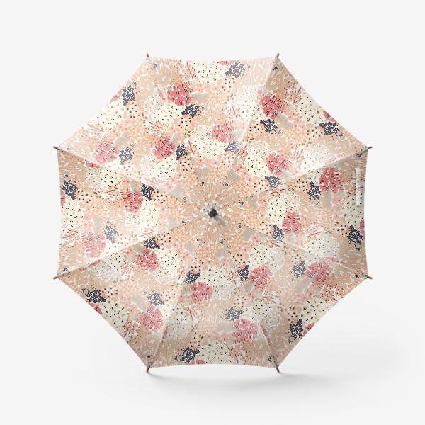 Зонт «цветущее поле»
