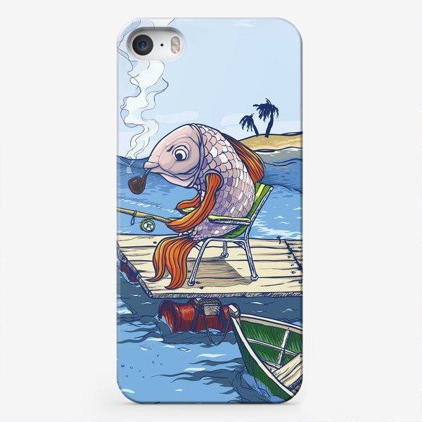 Чехол iPhone «Manerfish»