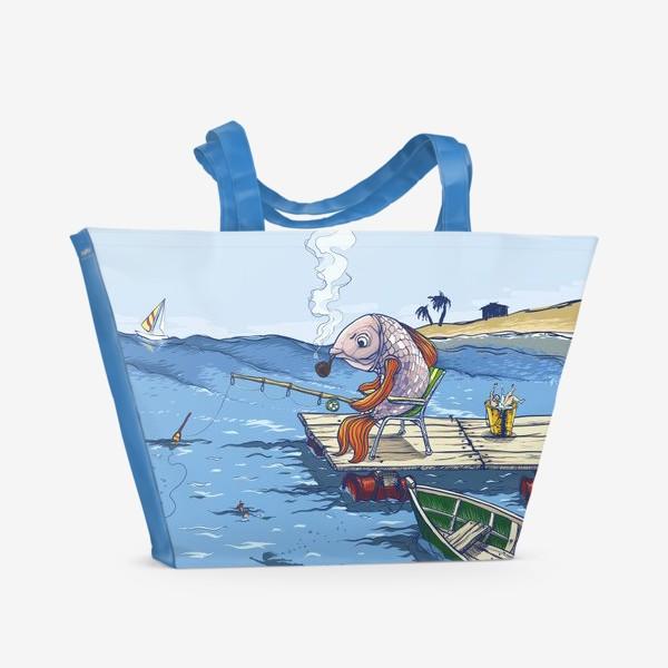 Пляжная сумка «Manerfish»