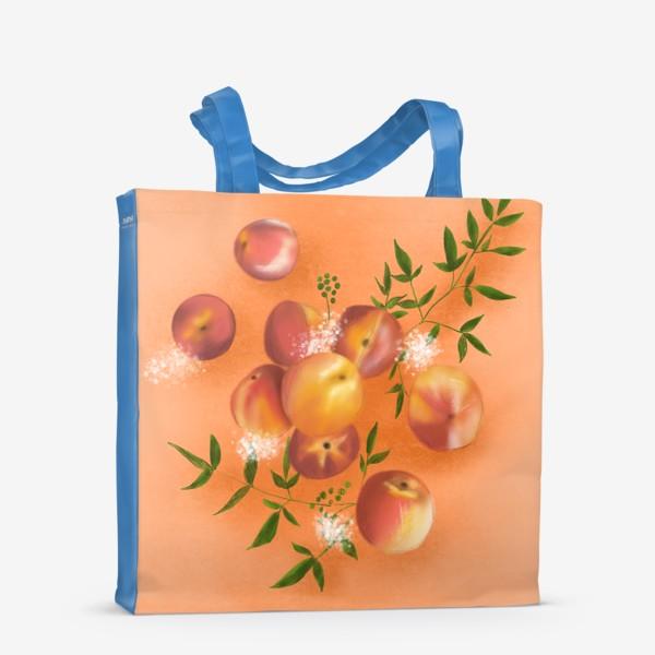 Сумка-шоппер «Персики»