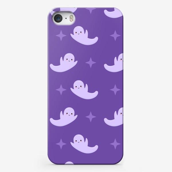 Чехол iPhone «Милые привидения. Хэллоуин.»