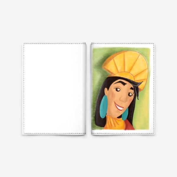 Обложка для паспорта «Куско »