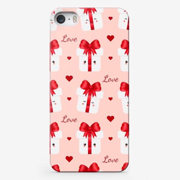 Чехол iPhone «Милые подарки»