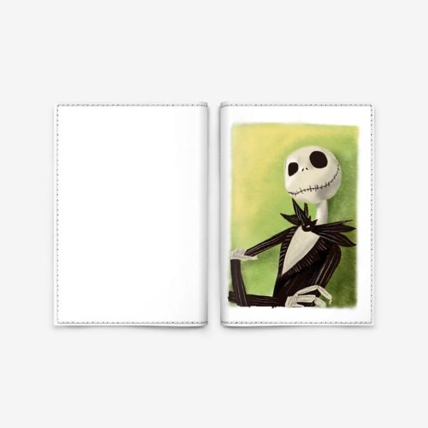 Обложка для паспорта «Джек»
