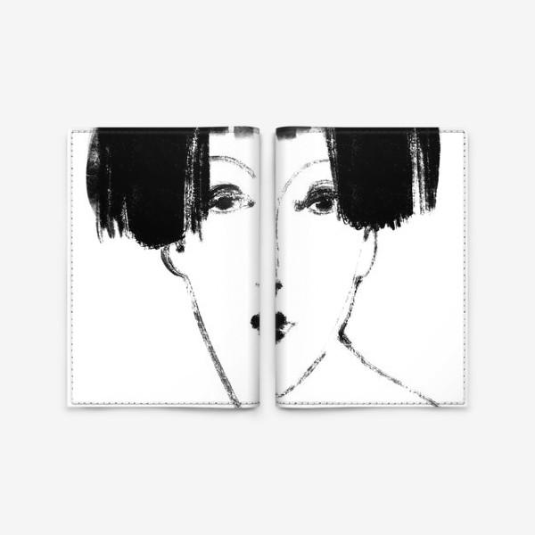 Обложка для паспорта «Дева»