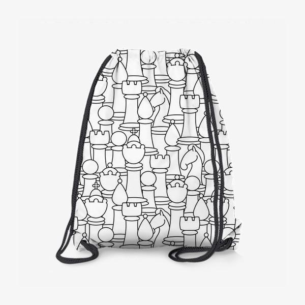 Рюкзак «Шахматы. Графика»
